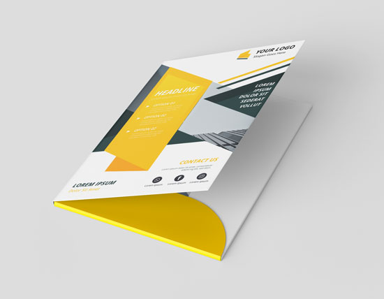 Presentation Folders Printing - Printing Press Dubai